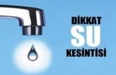 Gebze'ye 24 saat su verilmeyecek