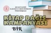 İl Halk Kütüphanesi'nden Kitap Bağış Kampanyası