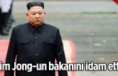 Kim Jong-un,  bakanını idam etti!