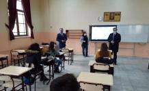 İl Milli Eğitim Müdürü Arpacı destekleme ve yetiştirme kurslarını ziyaret etti