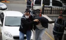 Döner dükkanı işletmecisi kadının katil zanlısı adliyeye sevk edildi