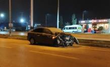 Sipariş götüren motosikletli kurye trafik kazasında hayatını kaybetti