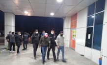 25 düzensiz göçmen yakalandı