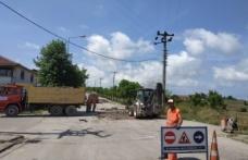 Kandıra köy yollarına 17 bin 650 ton asfalt seriliyor