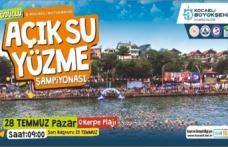 Açık Su Yüzme Şampiyonası başlıyor