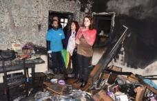 Yangın mağduru vatandaşa İzmit Belediyesinden destek