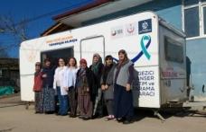 Kandıra köy halkı kanser taramasından geçti