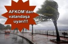 AFKOM'dan vatandaşlara uyarı