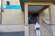 Okullar sınav için dezenfekte edildi
