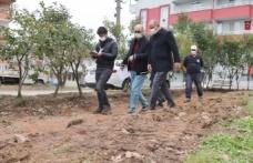 Cevher Dudayev Parkı'nda çalışmalar başladı