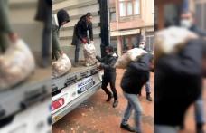 Karamürsel'de ihtiyaç sahiplerine patates yardımı