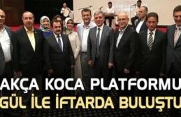 Akça Koca Platformu, Abdullah Gül ile buluştu