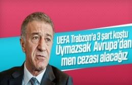 UEFA'dan Trabzonspor'a kötü haber