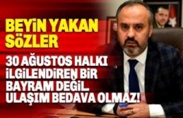 Alinur Aktaş: 30 Ağustos halkın genelini ilgilendiren...