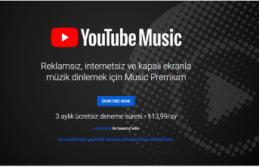 Youtube Music Türkiye'de