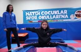 12 bin çocuk jimnastik eğitimi alacak