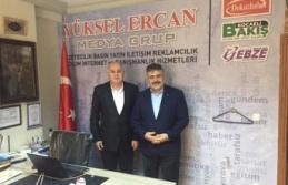 İl Emniyet Müdürü Veysel Tipioğlu gazetemizi ziyaret etti
