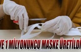KO-MEK bir milyon maske üretti