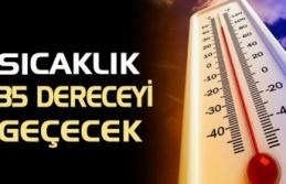 Kocaeli'de Sıcaklık 35 derece olacak