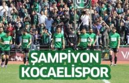 Şampiyon KOCAELİSPOR
