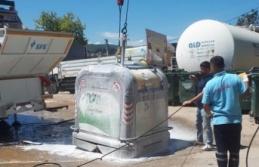 Kurban sonrası çöp konteynerlerine anında müdahale