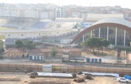 Gebze'de yeni futbol sahasının inşasına başlandı