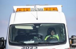 İstanbul-İzmir Otoyolu'nun tek kadın bakım operatörü çalışma azmiyle örnek oluyor