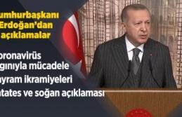 Cumhurbaşkanı Erdoğan'dan salgın açıklaması
