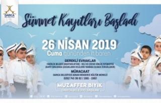 Darıca'da Sünnet kayıtları başladı