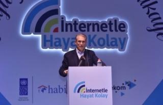 Türk Telekom'un, İnternetle Hayat Kolay projesi...