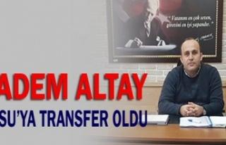 Adem Altay İSU'da