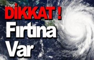 AFKOM'dan fırtına uyarısı!