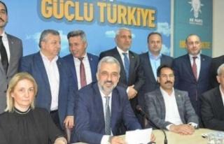 AK Parti Kocaeli İl başkanlığı için önerilen...