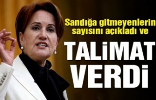 Akşener: AK Parti seçmenini tek tek arayacaksınız