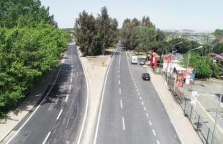 Bayramoğlu Caddesi yenilendi