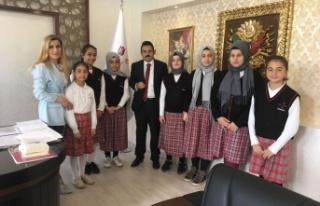Darıca Şehit Hasan Kaya İHL öğrencileri ödülleri...