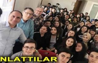 Gebzeli Gazeteciler öğrencilere gazeteciliği anlattı