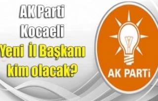 İl başkan adaylarının isimleri Erdoğan'ın...