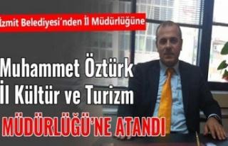 Muhammed Öztürk, Kocaeli İl Kültür müdürü...
