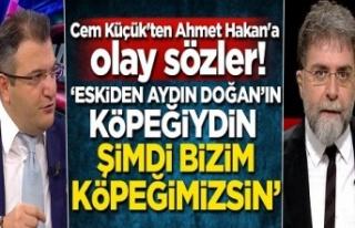 Cem Küçük'ten Ahmet Hakan'a :Eskiden...