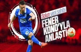 Fenerbahçe Konoplyanka'yla anlaştı