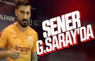 Şener Özbayraklı, Galatasaray'a transfer oldu