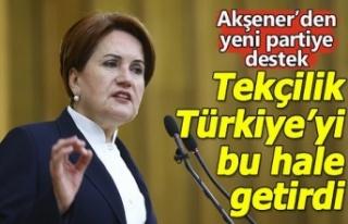 Akşener'den yeni parti yorumu: Çeşitlilik güzel...