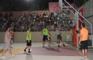 Değirmendere'de Sokak Basketbolu coşkusu