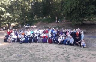 Dervişoğulları, 40 yıl aradan sonra piknikte buluştu.