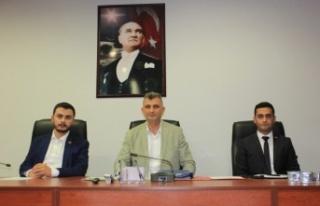 Gölcük Belediye Meclisinin Temmuz ayı oturumu yapıldı