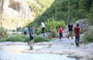 """Kocaeli'nin doğa sporları merkezi """"Ballıkayalar"""""""