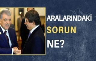 Daha parti kurulmadan araları açıldı; Gül, Davutoğlu'na...