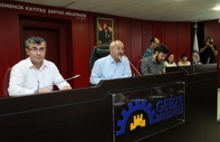 Gebze'de Ağustos Meclisi Tamam