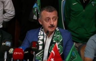 Kocaelispor'un 10 yıllık hasretini Tahir Büyükakın...